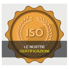 Le nostre Certificazioni