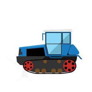 trattore cingolato