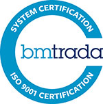 BMTRADA - CERTIFICAZIONE GLOBALFORM ISO 9001