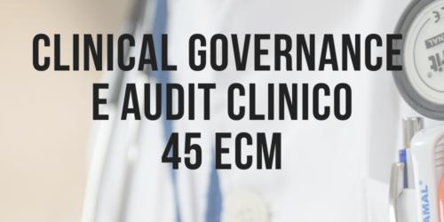 clinical governance e audit ECM
