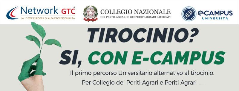 Il percorso universitario alternativo al tirocinio per collegio dei periti agrari e periti agrari 30CFU